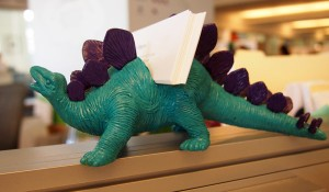Dinosaur Business Card Holder